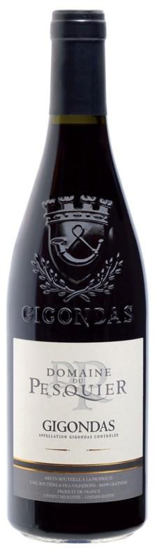 gigondas bottle