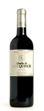 ABADIA DE SAN QUIRCE RESERVA 2012  DO RIBIERA DEL DUERO Type of grape :Tinta fina- Tempranillo VINTAGE : 2011 Aging :  4 months in the deposit  18 months in barrel Remaining time in bottle