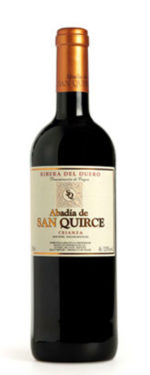 ABADIA DE SAN QUIRCE CRIANZA 2014 DO RIBIERA DEL DUERO Type of grape :Tinta fina- Tempranillo VINTAGE: 2014 Aging :  4 months in the deposit  14 months in barrel Remaining time in bottle