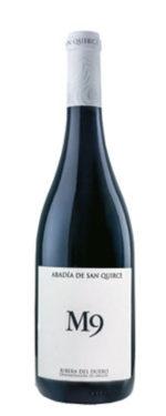 ABADIA M9 2009 DO RIBIERA DEL DUERO VINTAGE : 2014 100% Tempranillo Malolactic fermentation in barrel  14 months in French oak barrels