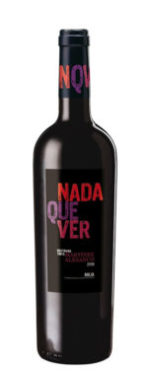 NADA QUE VER 2010 DOC RIOJA ALTA  •A uniqueness that comes from being the first single-variety wine to go on sale since 2004 when we started to develop MATURANA TINTA, a minority variety in Rioja,  which was in danger of extinction. Varieties :  100% Maturana Tinta